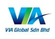 Logo of VIA GLOBAL SDN BHD