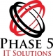 Logo of PHASE  5IT SOLUTIONS