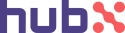 Logo of HUBX LLC.