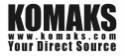 Logo of KOMAKS LTD.